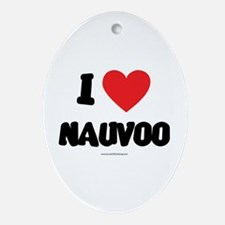 I Love Nauvoo - LDS Clothing - LDS T-Shirts Orname