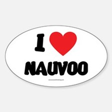 I Love Nauvoo - LDS Clothing - LDS T-Shirts Sticke