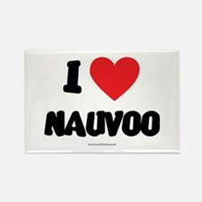 I Love Nauvoo - LDS Clothing - LDS T-Shirts Rectan