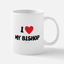 I Love My Bishop - LDS Clothing - LDS T-Shirts Mug
