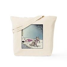Angry Fox Tote Bag