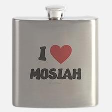 I Love Mosiah - LDS Clothing - LDS T-Shirts Flask