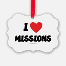 I Love Missions - LDS Clothing - LDS T-Shirts Orna
