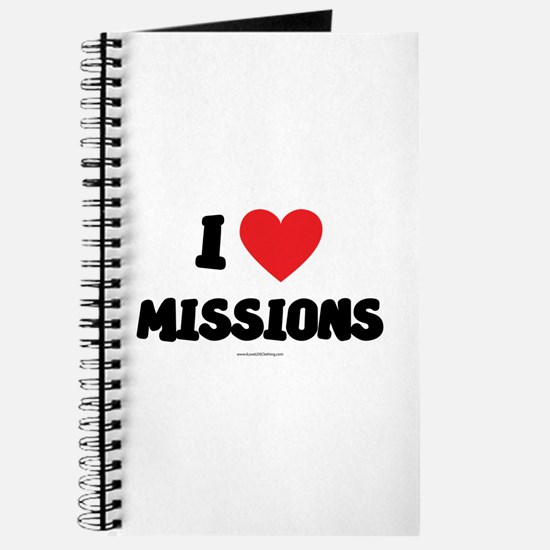 I Love Missions - LDS Clothing - LDS T-Shirts Jour