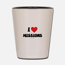 I Love Missions - LDS Clothing - LDS T-Shirts Shot