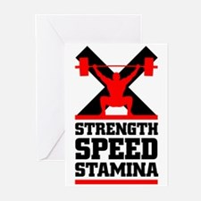 Crossfit cross fit philosophy Greeting Cards (Pk o