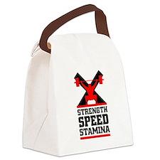 Crossfit cross fit philosophy Canvas Lunch Bag