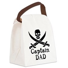 Captain Dad Canvas Lunch Bag