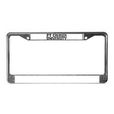 PT Cruiser University License Plate Frame