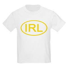 Ireland - IRL Oval Kids T-Shirt