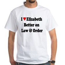 Elizabeth Law & Order Shirt