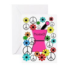 PharmD iPhone pink Greeting Cards (Pk of 20)