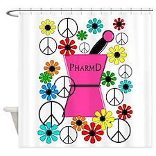 PharmD iPhone pink Shower Curtain