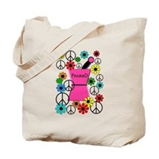 PharmD iPhone pink Tote Bag