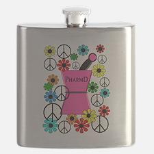 PharmD iPhone pink Flask