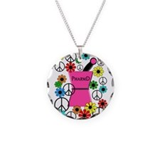 PharmD iPhone pink Necklace