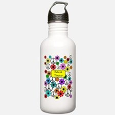 retired teacher iphone case yellow Water Bottle