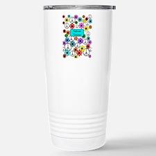 retired teacher iphone case blue Travel Mug