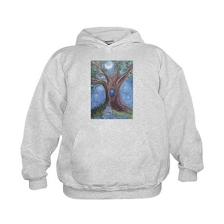 Magical Womb Tree Kids Hoodie