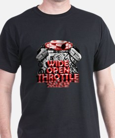 Wide Open Throttle - Supporter T-Shirt