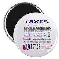 Obama Care Taxes Magnet