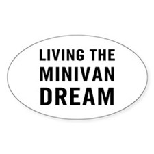 Living Minivan Bumper Stickers