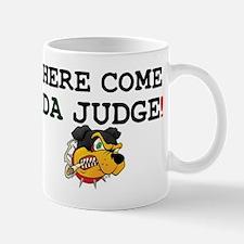 HERE COME DA JUDGE! Z Small Mug
