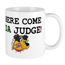 HERE COME DA JUDGE! Z Small Mug