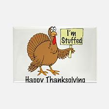 Happy Thanksgiving (I'm Stuffed) Rectangle Magnet