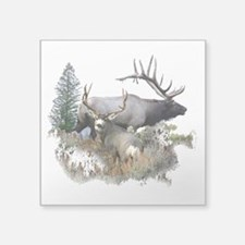 Buck deer bull elk Sticker