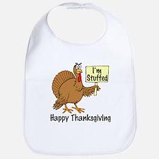 Happy Thanksgiving (I'm Stuffed) Bib