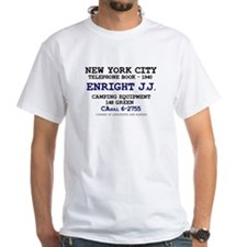 NEW YORK CITY TELEPHONE BOOK 1940 - ENRIGHT J.J. T