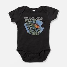 roller coaster.png Baby Bodysuit