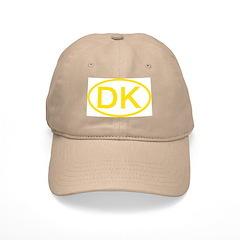 Denmark - DK Oval Baseball Cap