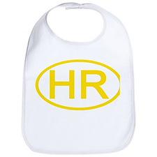 Croatia - HR Oval Bib