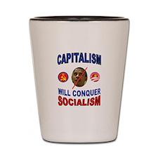 CAPITALISM Shot Glass