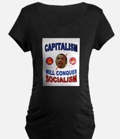 CAPITALISM Maternity T-Shirt