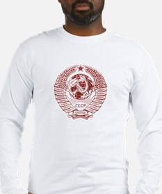 Soviet (Russia) Hammer & Sickle Seal Long T-Shirt