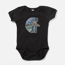 cherokee indian copy.jpg Baby Bodysuit