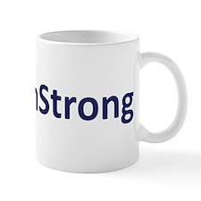 #BostonStrong Blue Mug