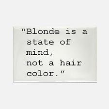 Blonde State of Mind Rectangle Magnet