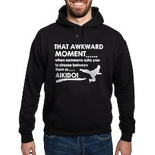 Cool Aikido designs Hoodie
