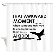 Cool Aikido designs Shower Curtain