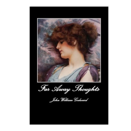 Far Away Thoughts Postcards (Package of 8)