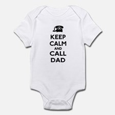 Keep Calm and Call Dad Infant Bodysuit