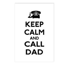 Keep Calm and Call Dad Postcards (Package of 8)