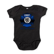 Fire Chief Baby Bodysuit
