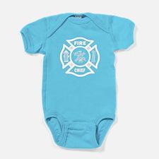 Fire Chief Baby Bodysuit