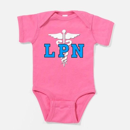 LPN Medical Symbol Baby Bodysuit