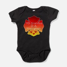 Firefighter Grandfather Baby Bodysuit
